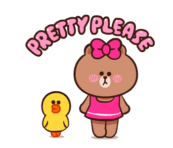 LINE FRIENDS Pretty Phrases messages sticker-6