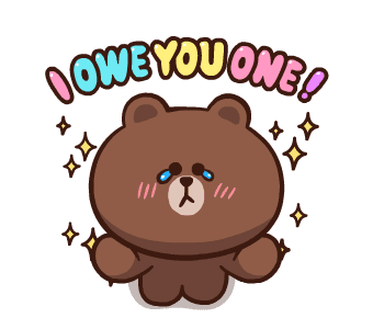 LINE FRIENDS Pretty Phrases messages sticker-2