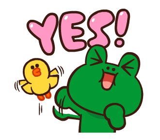 LINE FRIENDS Pretty Phrases messages sticker-3