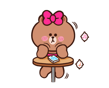 LINE FRIENDS Pretty Phrases messages sticker-9