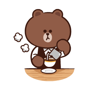 LINE FRIENDS Pretty Phrases messages sticker-10