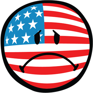 Smiley American Flags messages sticker-10