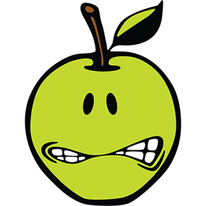 Smiley Apple Pack messages sticker-8