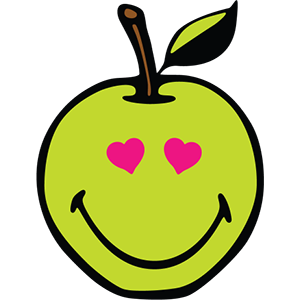 Smiley Apple Pack messages sticker-9