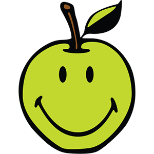 Smiley Apple Pack messages sticker-0