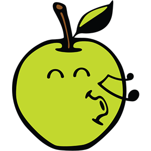 Smiley Apple Pack messages sticker-4