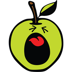 Smiley Apple Pack messages sticker-6