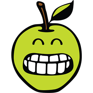Smiley Apple Pack messages sticker-2