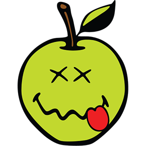 Smiley Apple Pack messages sticker-5