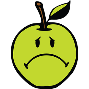 Smiley Apple Pack messages sticker-10