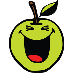 Smiley Apple Pack messages sticker-1