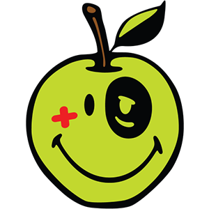 Smiley Apple Pack messages sticker-7