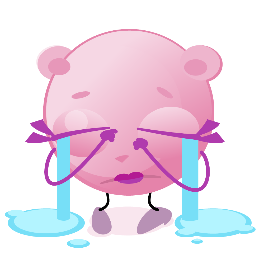 Cutie Pink - emoji stickers messages sticker-11