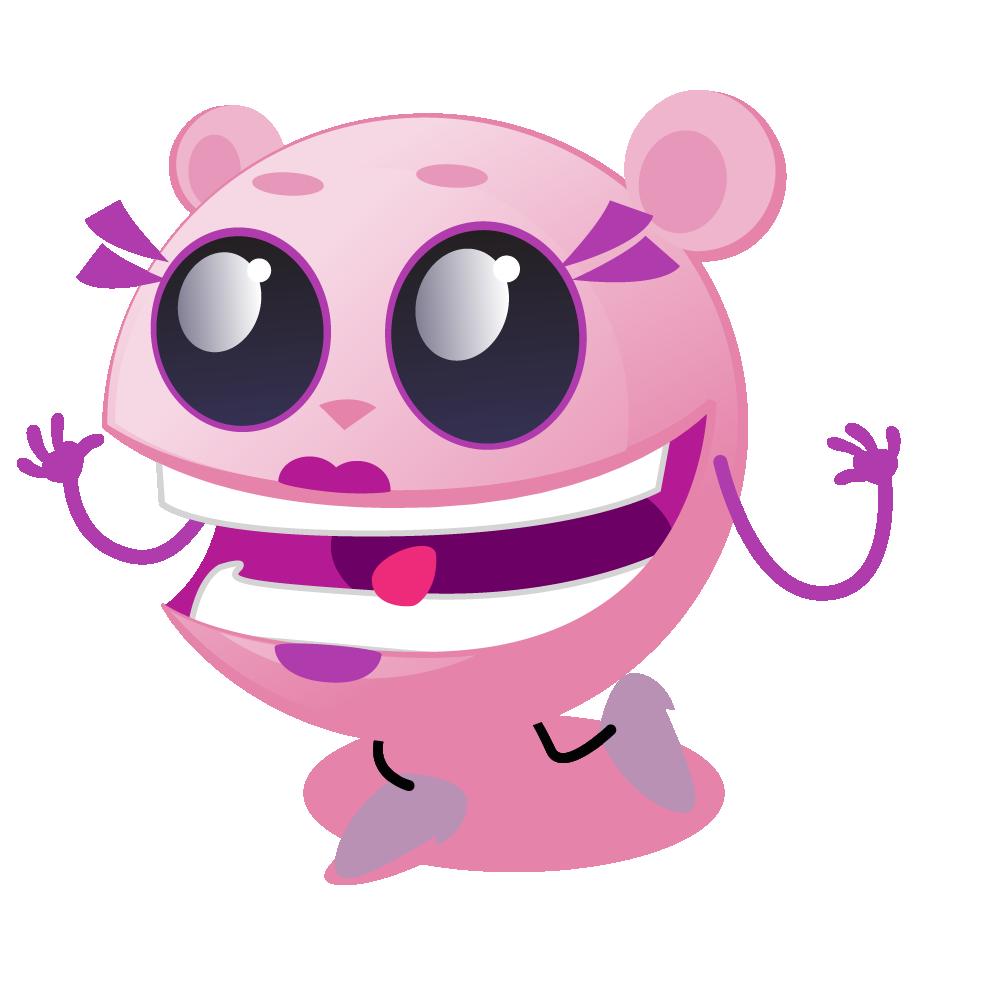 Cutie Pink - emoji stickers messages sticker-2