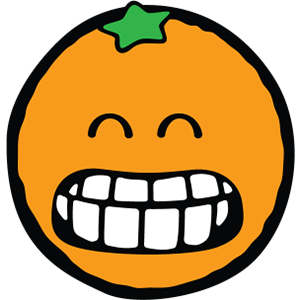 Smiley Orange Pack messages sticker-3