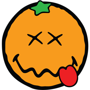 Smiley Orange Pack messages sticker-5