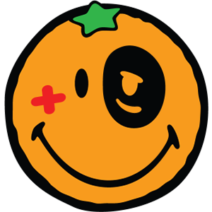 Smiley Orange Pack messages sticker-6