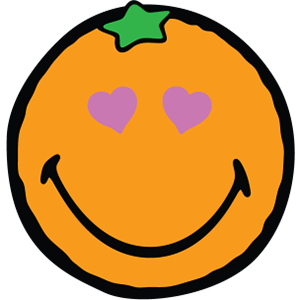 Smiley Orange Pack messages sticker-9