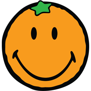 Smiley Orange Pack messages sticker-0