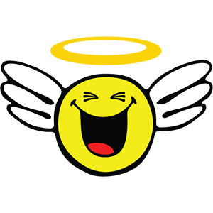 Smiley Angel Pack messages sticker-1
