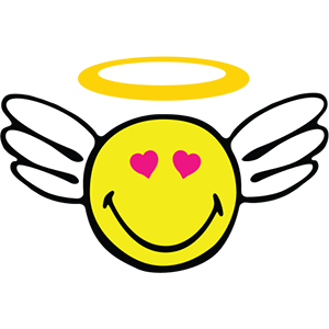 Smiley Angel Pack messages sticker-9
