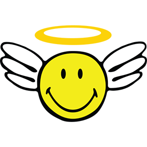 Smiley Angel Pack messages sticker-0
