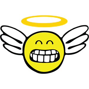 Smiley Angel Pack messages sticker-3