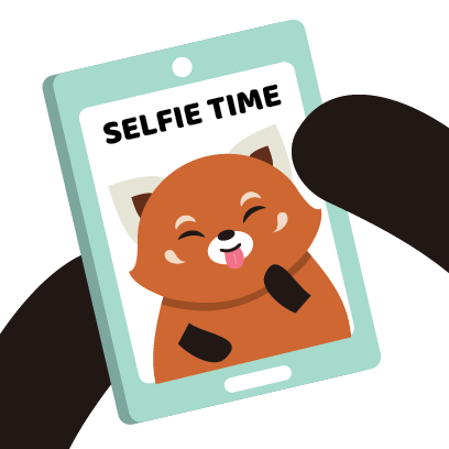 Red Panda Sticker Pack messages sticker-5