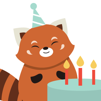 Red Panda Sticker Pack messages sticker-3