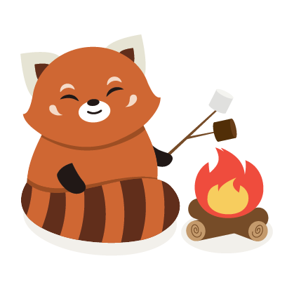Red Panda Sticker Pack messages sticker-8