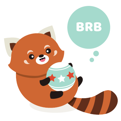 Red Panda Sticker Pack messages sticker-1