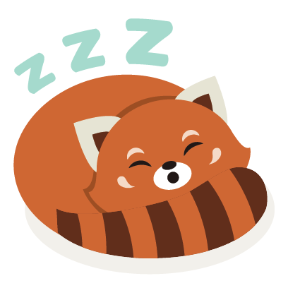 Red Panda Sticker Pack messages sticker-7