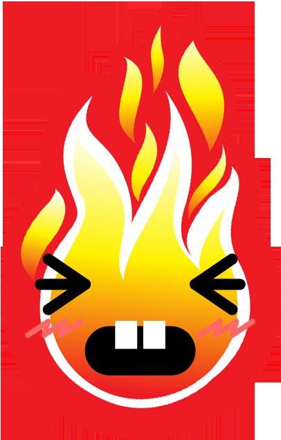 FIREMOJI - Hot Fire Flame Emojis messages sticker-10