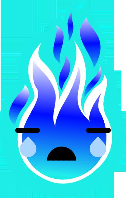 FIREMOJI - Hot Fire Flame Emojis messages sticker-5