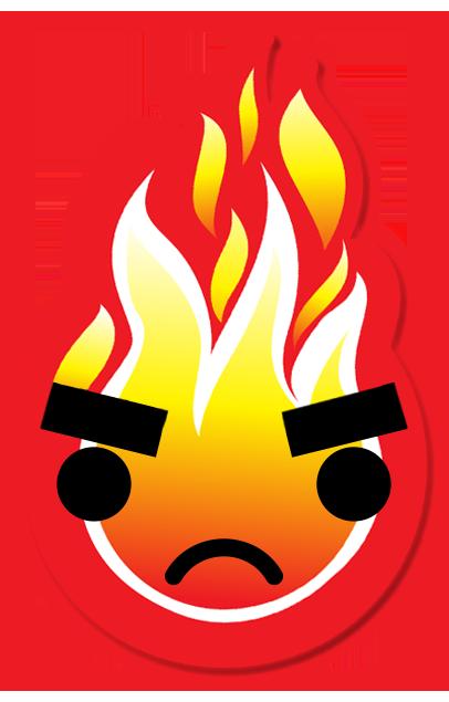 FIREMOJI - Hot Fire Flame Emojis messages sticker-4
