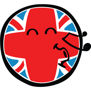 Smiley British Flags messages sticker-4