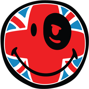 Smiley British Flags messages sticker-6