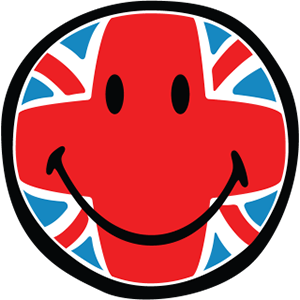 Smiley British Flags messages sticker-0