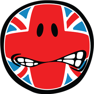 Smiley British Flags messages sticker-8