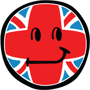 Smiley British Flags messages sticker-2