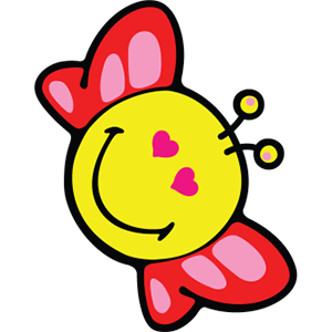 Smiley Butterfly Pack messages sticker-9