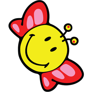 Smiley Butterfly Pack messages sticker-0