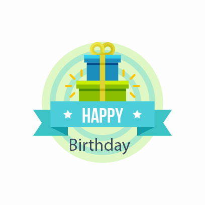Birthday Stickers For you! messages sticker-7