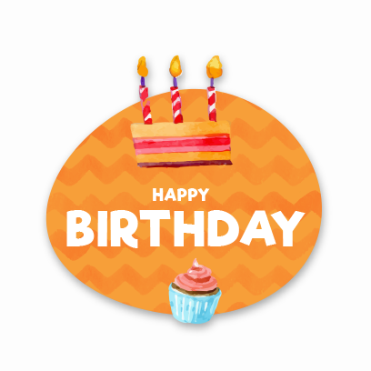 Birthday Stickers For you! messages sticker-5