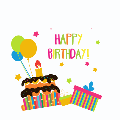Birthday Stickers For you! messages sticker-1