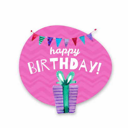 Birthday Stickers For you! messages sticker-10