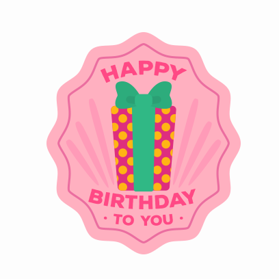 Birthday Stickers For you! messages sticker-9