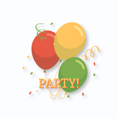 Party Stickers For You! messages sticker-10