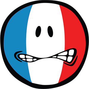 Smiley French Flags messages sticker-8