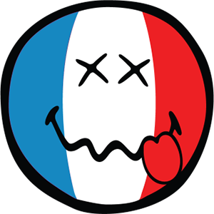 Smiley French Flags messages sticker-5
